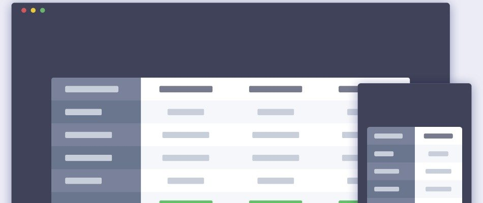 How to Create Responsive Feature Comparison Table in Genesis