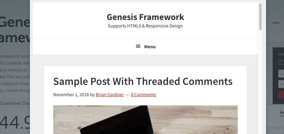 "How to Remove the Word ""Menu"" from Responsive Menu in Genesis Themes"