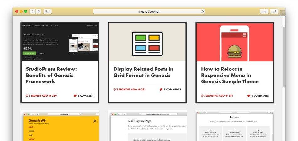 CSS Grid Layout in Genesis Starter Theme