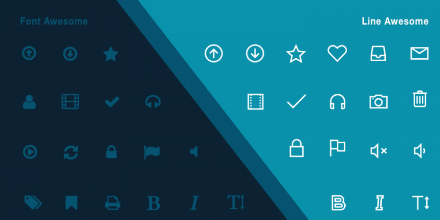 Line Awesome font icons offer some compelling benefits over Font Awesome font icons. Here's how to use Line Awesome Font Icons in Genesis themes.